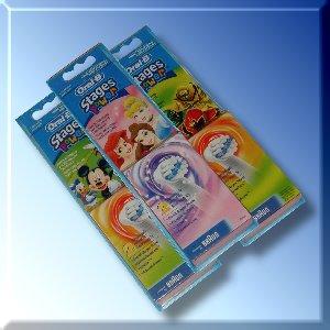 Kartáčky náhradní Braun EB 10-2 Kids