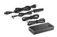 HP 90W Slim adapter s USB + Car adapter