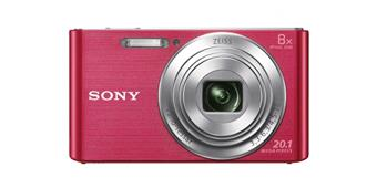 "SONY DSC-W830P 20,1 MP, 8x zoom, 2,7 "" LCD - PINK"