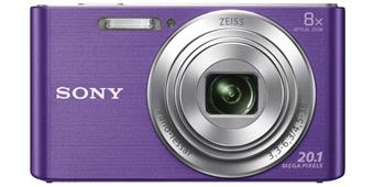 "SONY DSC-W830V 20,1 MP, 8x zoom, 2,7 "" LCD - VIOLET"
