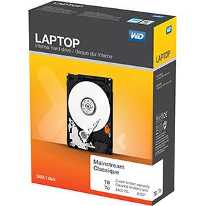WD LAPTOP EVERYDAY 1TB 5400 8MB 3Gb/s EMEA