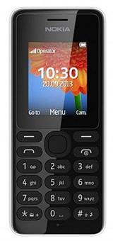 Nokia 108 White (bílá)
