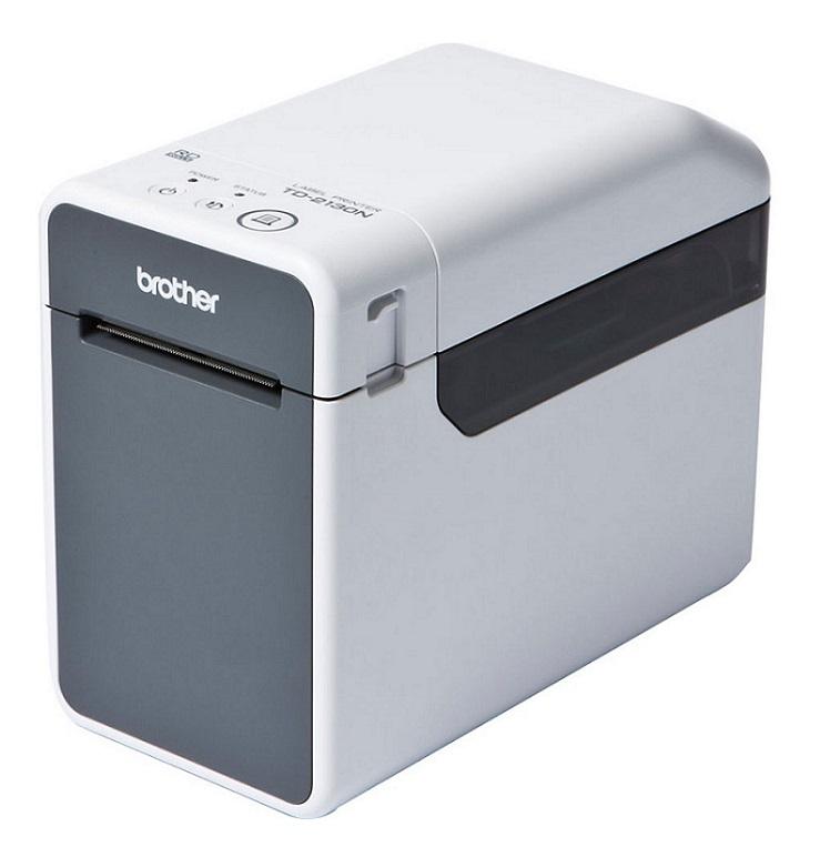 BROTHER tiskárna štítků TD-2120N USB, RS232, LAN, WIF(203 dpi, max šířka štítků 63 mm) – možno použít OEM spotř materiál
