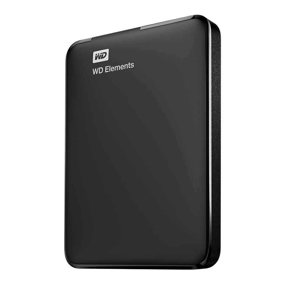 "WD Elements Portable 4TB Ext. 2.5"" USB3.0, Black"