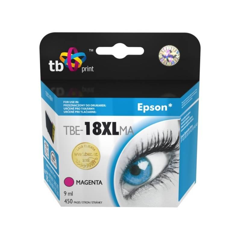 Ink. kazeta TB kompat. s Epson T1813 M 100% New