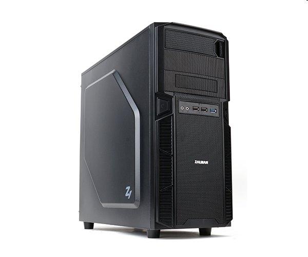 Zalman case miditower Z1, mATX/ATX, bez zdroje, USB3.0, černá