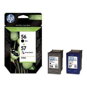 HP SA342AE Ink Cart No.56 + 57, CMYK, (C6656A+C6657A)