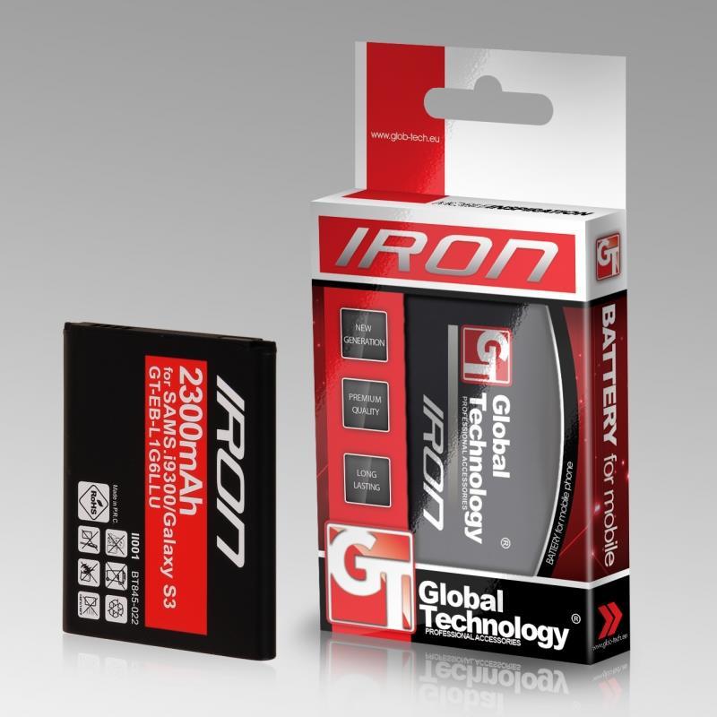 GT Iron baterie pro Samsung i9500 S4 (EB-B600BEBECWW) 2800mAh