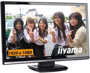 """24"""" LCD iiyama ProLite E2407HDS-Full HD,16:9,HDMI"""