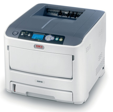 OKI C610dn farebna laser. tlaciaren A4 36-34str/min, USB, NET, DUPLEX