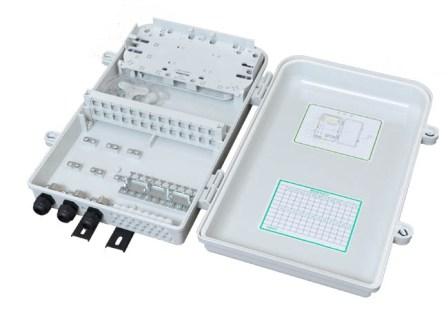 Opticord nástěnný optický spojovací box pro 24pigtailů vč kazet