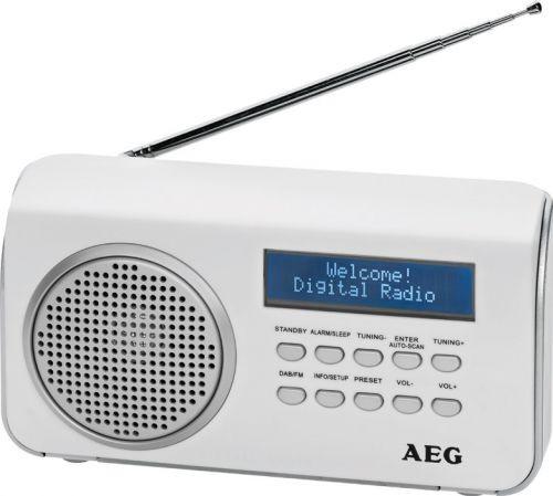 DAB 4130/bílé DAB-RDS FM radio