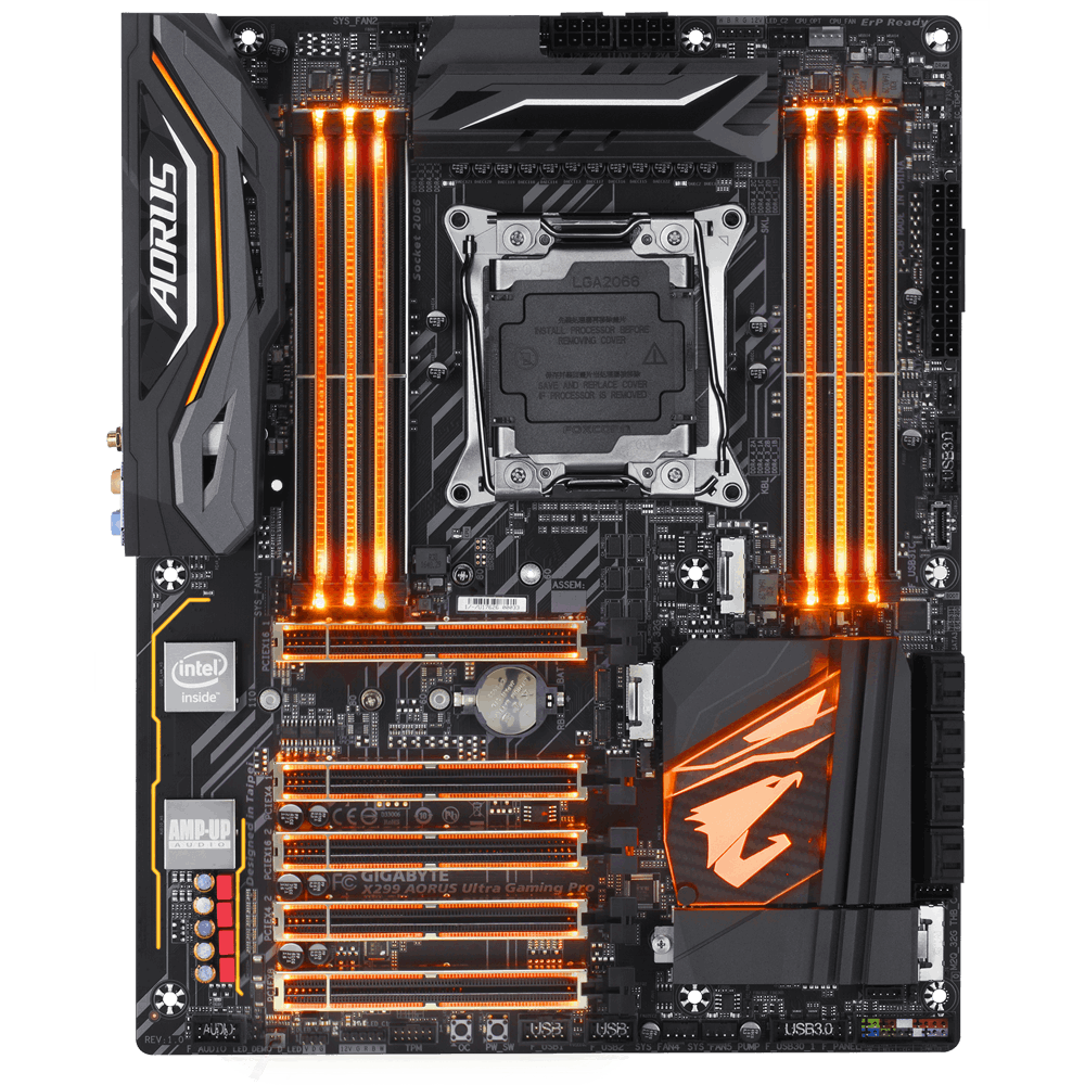 GIGABYTE X299 AORUS Ultra Gaming Pro (rev. 1.0)