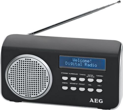 DAB 4130/černý DAB-RDS FM rádio,AUX in