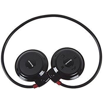 Wodasound ® Sports mini 503 Bluetooth stereo sluchátka za hlavu, MP3 a FM rádio Black