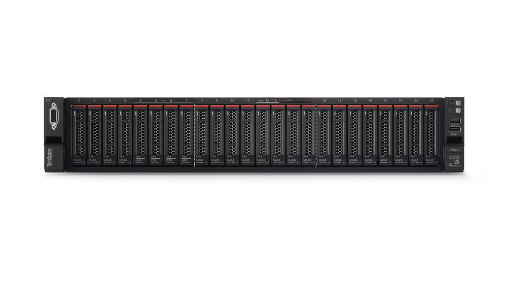 """Lenovo ThinkSystem SR650 1x Silver 4114 10C 2.2GHz 85W/1x32GB/0GB 2,5""""(8)/930-8i(2GB f)/XCC-E/2x750W"""