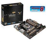 ASUS VANGUARD B85, 1150, B85, 4xDDR3, DVI, D-sub, HDMI, DP, 2xPCIe16, uATX