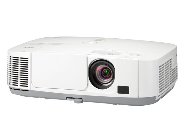 NEC projector P501X - 5000lm, 1,7x zoom lens, Lens shift, H/V keystone, 6000h lamp life, WiDi optional, XGA