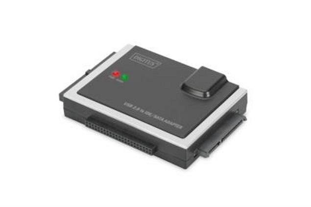 Digitus adaptér pro připojení IDE/SATA HDD na USB 2.0 včetně zdroje