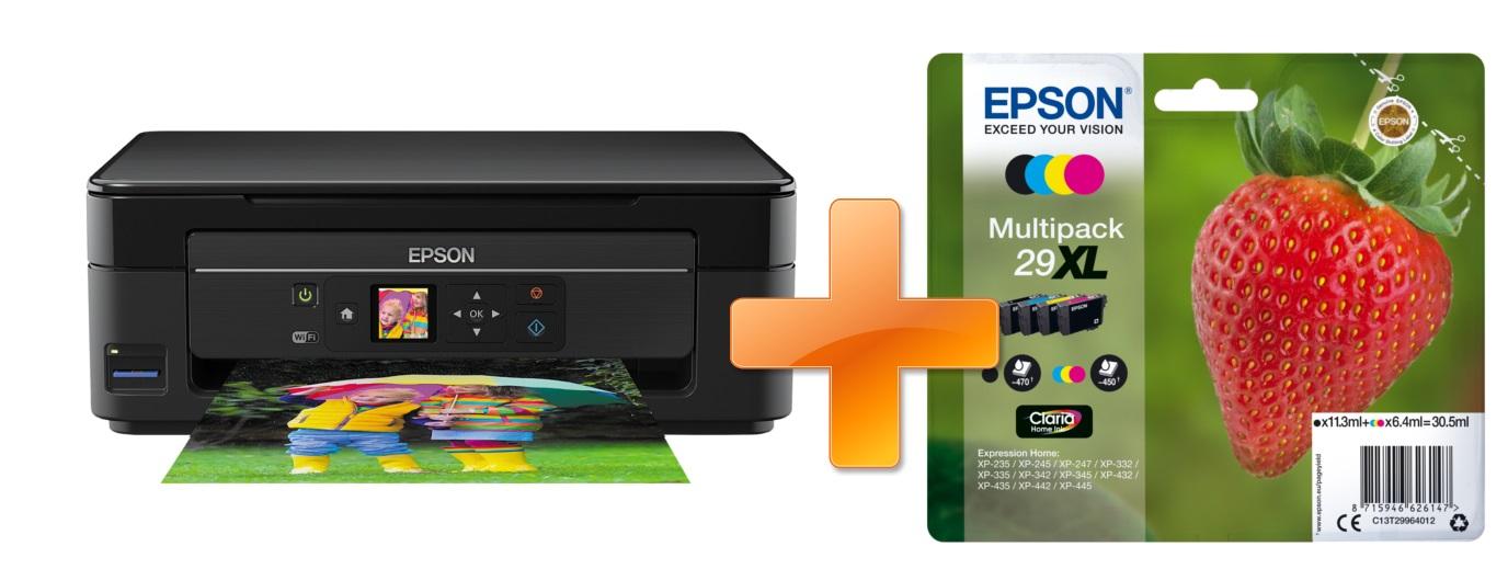 EPSON Expression Home XP-342 A4 + sada inkoustů 29
