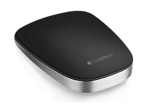 Logitech Počítačová myš Ultrathin Touch T630 stříbrná/černá