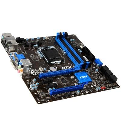 MSI B85M-G43, 1150, B85, 4xDDR3, 2xPCIe16, SATA3, GL, 8CH, USB3.0, uATX