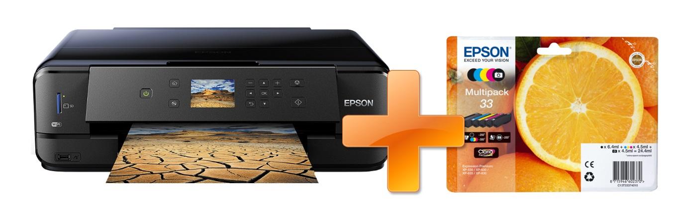 Epson Expression Premium XP-900 A3 + sada inkoustů 33XL