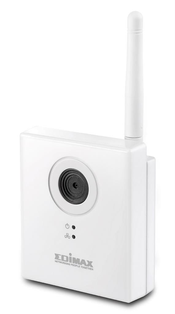 Edimax 1,3Mpx Wireless N150 IP Camera, Plug&View, AVI 1280 x 960, MJPEG, EdiView