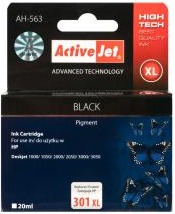 Inkoust ActiveJet AH-563 | Black | 20 ml | Refill | HP CH563EE