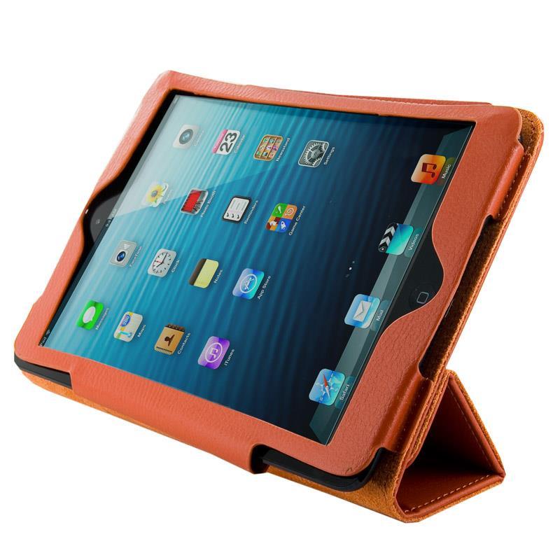 4World Pouzdro - stojan pro iPad Mini, Folded Case, 7'', oranžový
