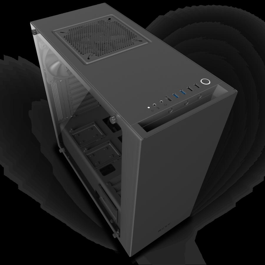 NZXT PC skříň S340 Elite Matte černá