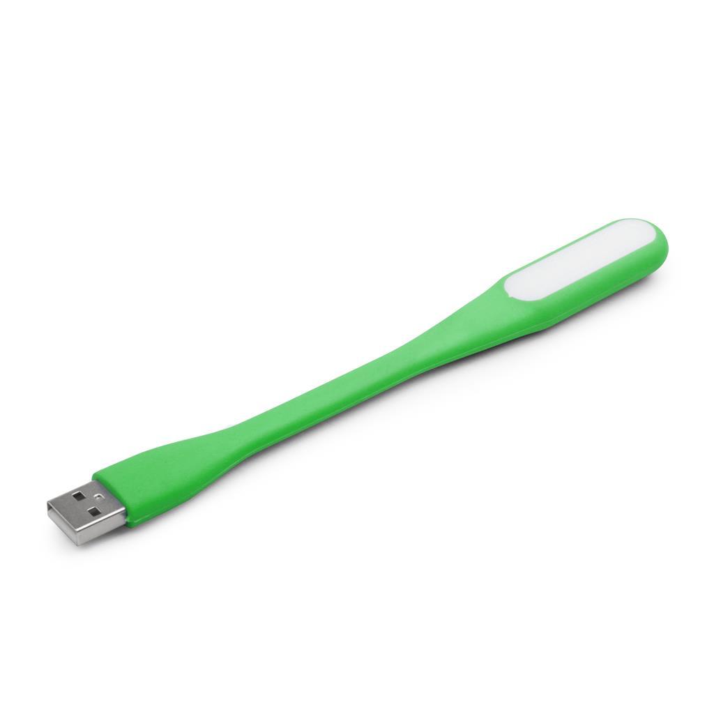 Gembird USB LED lampička k notebooku, zelená