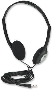 Manhattan Stereo sluchátka, černá