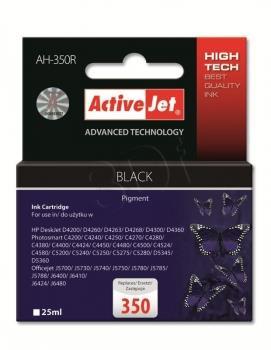 Inkoustová kazeta ActiveJet AH-350R | černá | 25 ml | HP HP 350 CB335EE