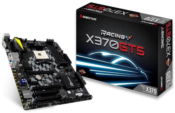 Biostar X370GT5, X370, DDR4, SATA3, USB 3.1, ATX