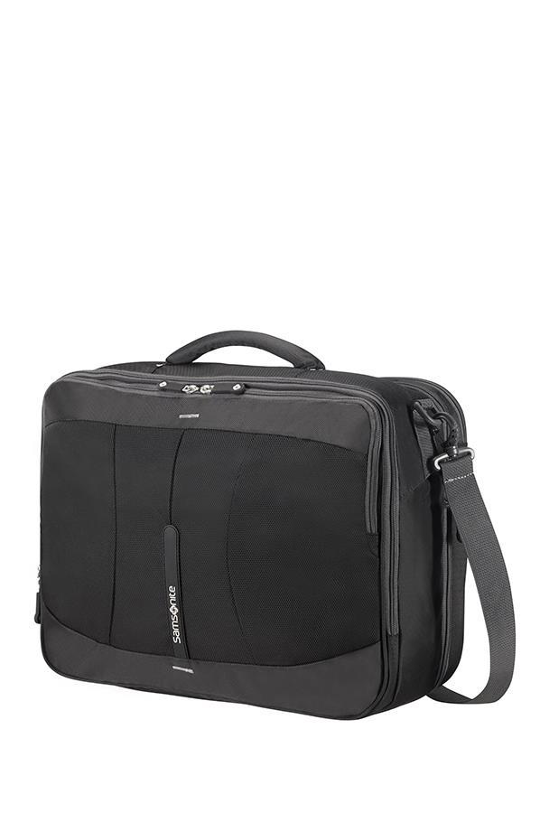 Case SAMSONITE 37N09004 16''EXP 4MATION, comp,tblt,doc,pocket, black/silver