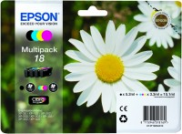 Bundle Epson T1806 CMYK MultiPack | XP- 102/202/205/302/305/402/405/405WH