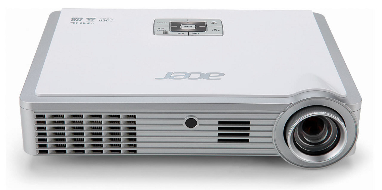 Acer K335 LED, DLP 3D, WXGA 1280x800, 1000 ANSI, HDMI(MHL), USB&SD 1,24Kg