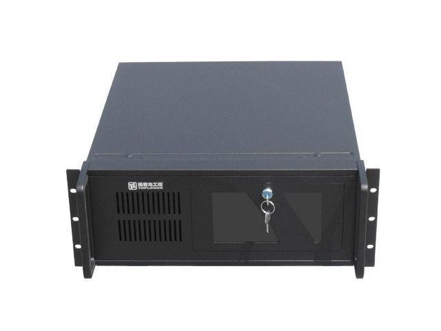 Gembird 19'' serverové šasi ATX 19''/4U, 7 PCI on/off, černé