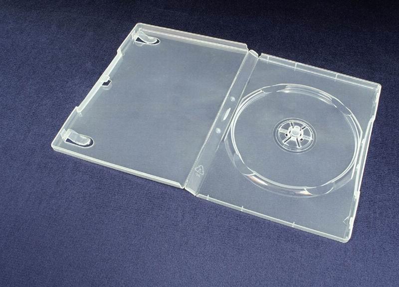 Esperanza Plastové krabičky na 1 DVD 14mm   100 ks, transparentní