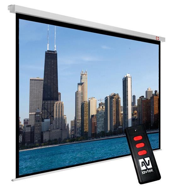 Avtek plátno Video Electric 300P (300 x 227,5 cm) - 4:3