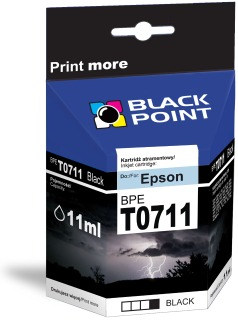 Ink Black Point BPET0711 | Black | chip | 13ml | Epson T0711