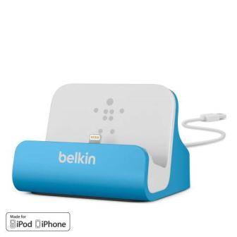 Belkin nabíjecí a synchronizační dock MIXIT UP pro iPhone 5/5s/6/6s/6 Plus - modrý