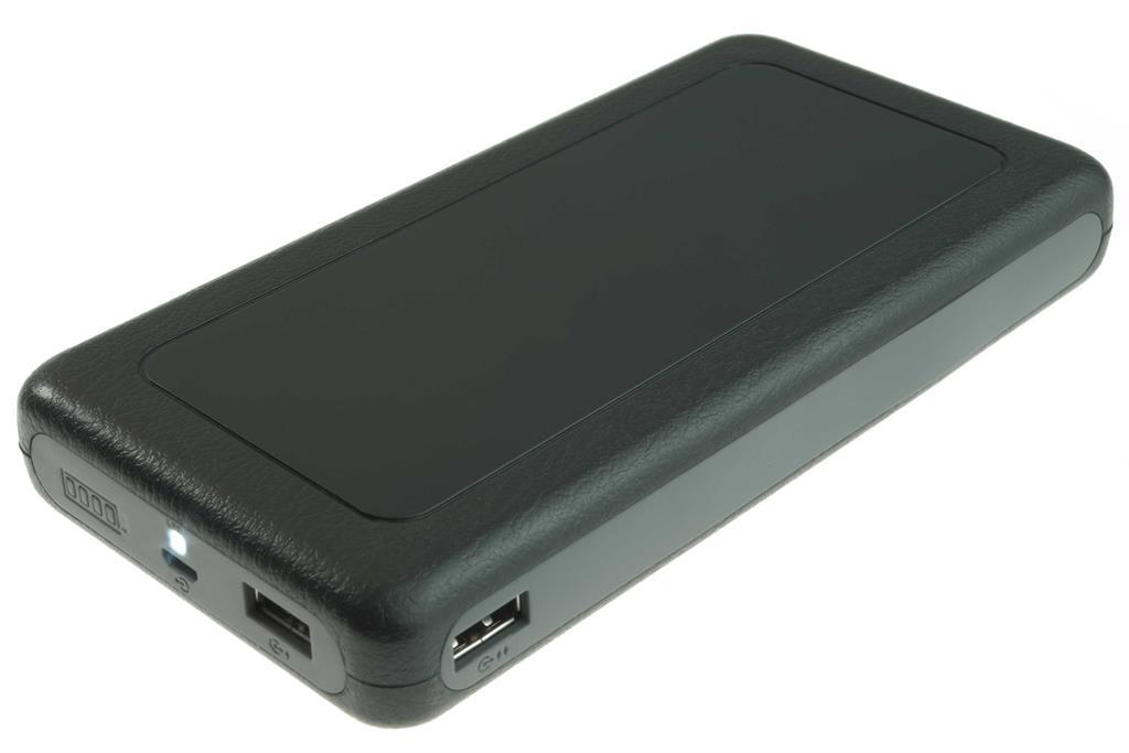PowerNeed Sunen Přenosná nabíječka 20000mAh, 2x USB; tablet, smartphone; černá