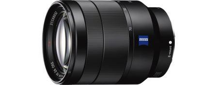 SONY SEL2470Z Full Frame objektiv F4 Vario-Tessar® T* značky Carl Zeiss® 24–70 mm se zoomem
