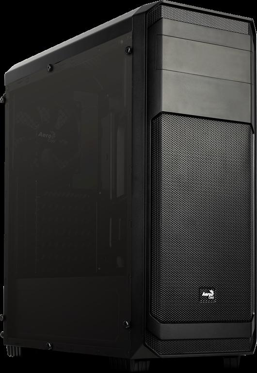 PC skříň Aerocool ATX AERO-300 BLACK FAW Window, USB 3.0,bez zdroje