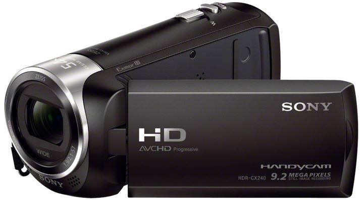 "SONY HDR-CX240EB 27x zoom,2,7"" dotykový LCD, Full HD, Black"