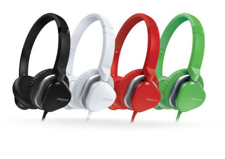 Creative Labs sluchátka MA2400, bílá, s mikrofonem