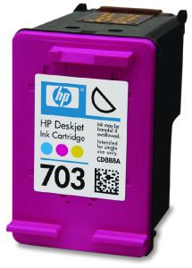 Tisková náplň HP 703 3barevná | 4ml | DJ D730/F735