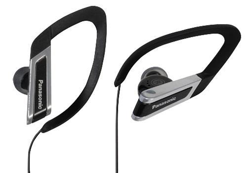 Sportovní sluchátka Panasonic RP-HS200E-K, černá - CZ distribuce